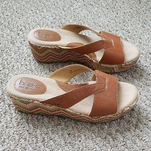 Boho Platform Woven Sandals